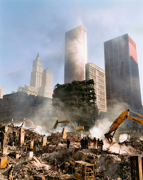 Joel Meyerowitz, Aftermath, WTC Archive, 2001