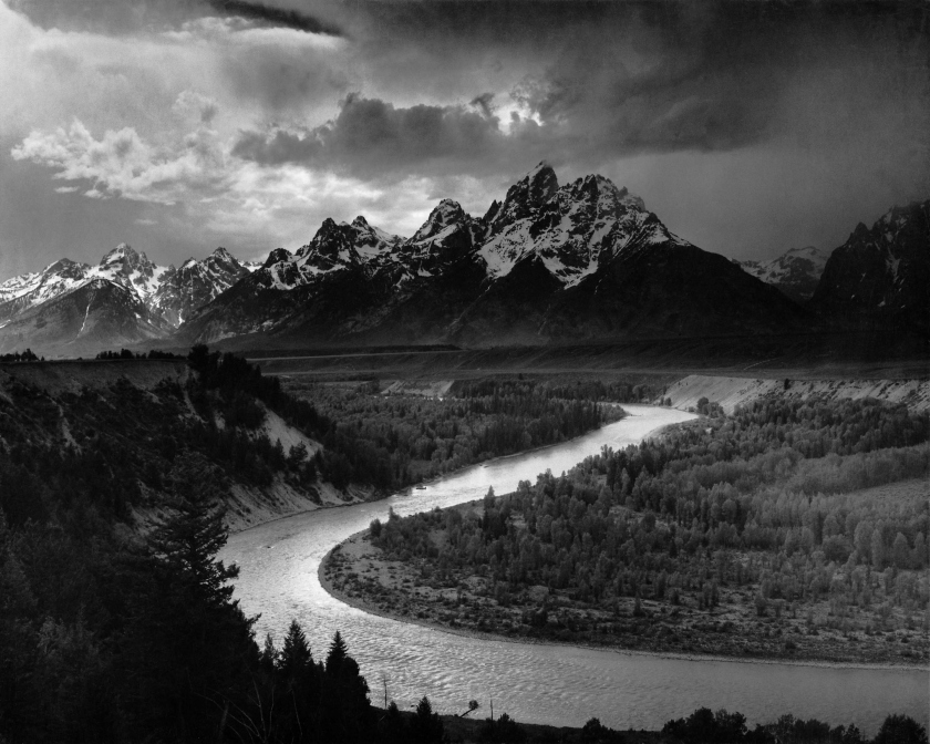Ansel Adams, The Tetons and the Snake River, 1942