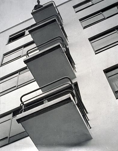 Lazlo Moholy-Nagy, Bauhaus Balconies, 1926