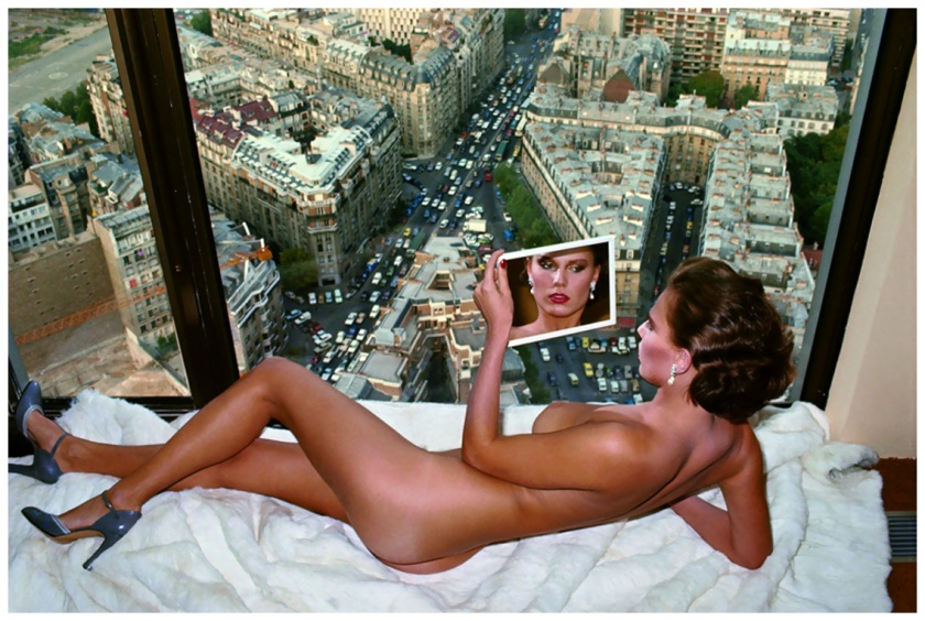 Helmut Newton, Bergström Over Paris, 1976