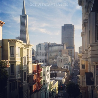 The light is always amazing in San Francisco
