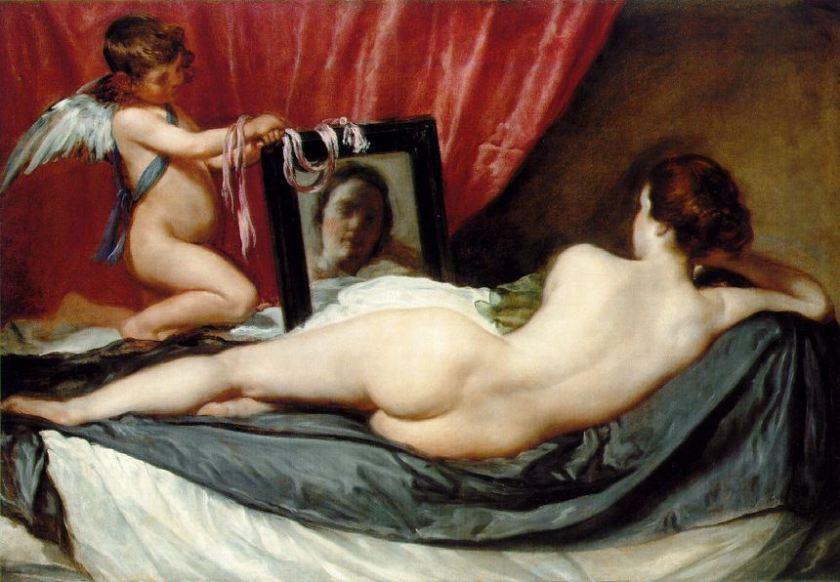 Diego Velázquez, Venere allo specchio, 1644-48