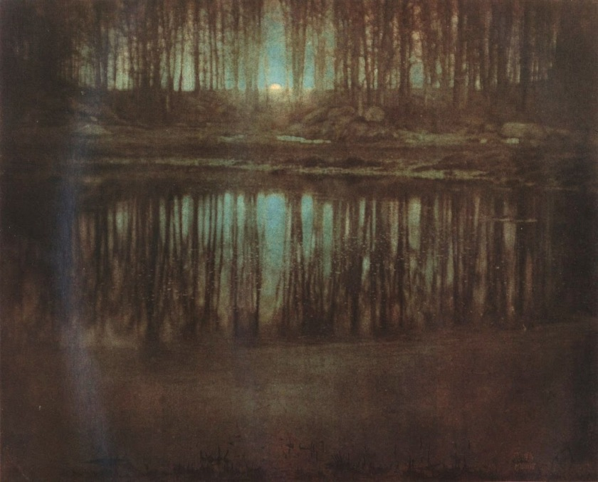 Edward Steichen, The pond - Moonlight, 1904