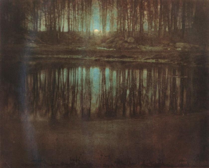 Edward Steichen, The pond - Moonlight, 1904