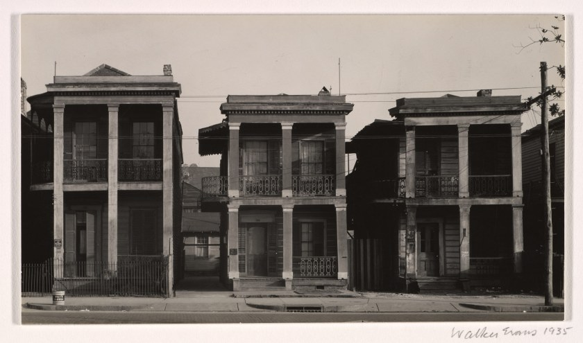 New Orleans Houses, 1935