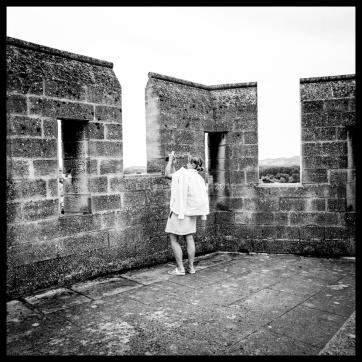 The observer (solitary prisoner) © Elisa Posella