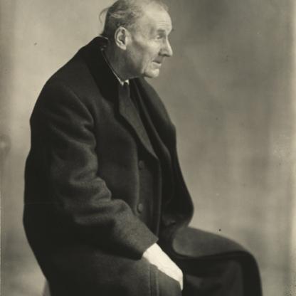 Berenice Abbott, Ritratto di Eugène Atget, 1927