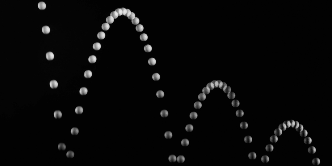 Berenice Abbott, A Bouncing Ball in Diminishing Arcs, 1958-61 (MIT)